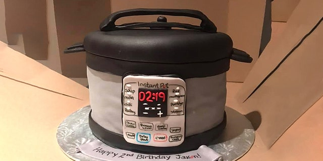 Kristyn Miller's son Jaxon was turning 2, and instead of a more traditional birthday cake, Kristyn decided to get something that really spoke to her son's unique interests: an Instant Pot.