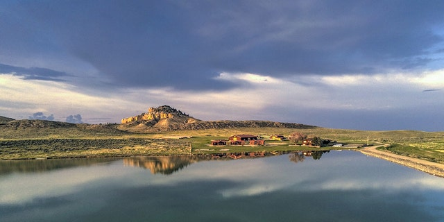 Kim Kardashian, may have teased the purchase of this ranch in a September interview with Vogue Arabia.
