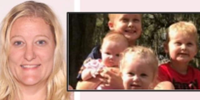 Casei Jones and her four children pictured here have been missing for about six weeks.