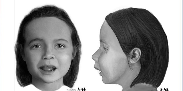 Forensic artists at the National Center for Missing and Exploited Children created a facial reconstruction image of the girl whose remains were found in a suitcase in Texas using a CT scan of her skull to help identify her.