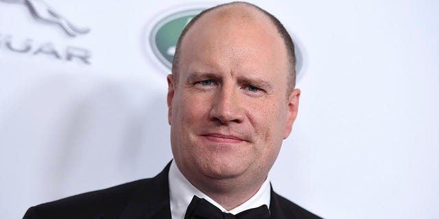 This Oct. 26, 2018 file photo shows Marvel Studios president Kevin Feige at the 2018 BAFTA Los Angeles Britannia Awards in Beverly Hills, Calif. Feige will be honored at the 45th annual Saturn Awards in Los Angeles on Friday, Sept. 13.