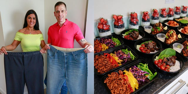 Clark took up extreme meal prepping in 2004 after wanting to make a change.