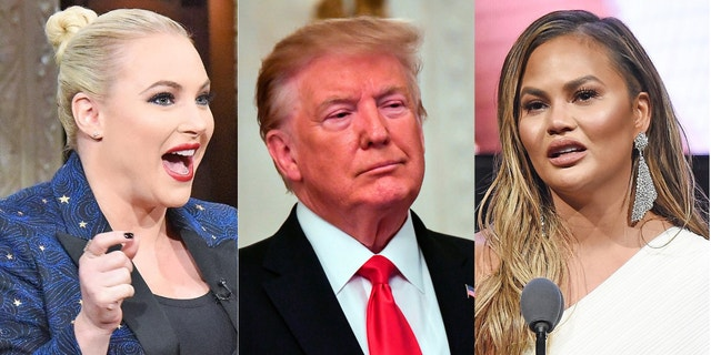 Westlake Legal Group meghan-mccain-donald-trump-chrissy-teigen Meghan McCain defends Chrissy Teigen from Trump's 'filthy mouth' attack Jessica Sager fox-news/person/meghan-mccain fox-news/person/donald-trump fox-news/person/chrissy-teigen fox-news/entertainment/the-view fox-news/entertainment/genres/political fox-news/entertainment/events/feud fox-news/entertainment/celebrity-news fox-news/entertainment fox news fnc/entertainment fnc fcdd0e03-5846-58b0-a1f6-7c05b1ff4ff6 article