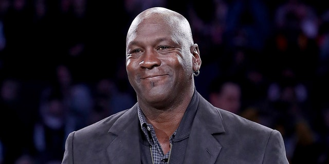 Six-time NBA champion Michael Jordan, who owns property and frequently visits the Bahamas, is pledging $1 million to organizations assisting with Hurricane Dorian relief efforts.(Photo by Streeter Lecka/Getty Images)
