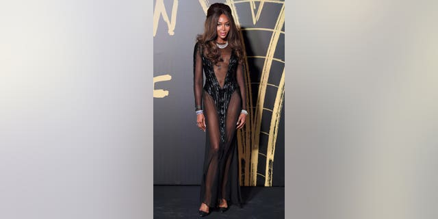 Naomi Campbell attends Fashion For Relief London 2019 at The British Museum on Sept. 14, 2019 in London.