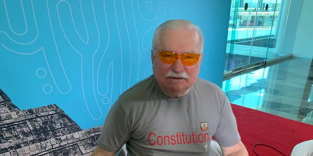 Lech Walesa won in 1983 as a pro-democracy activist before he became the first democratically-elected President of Poland in the post-Soviet era.