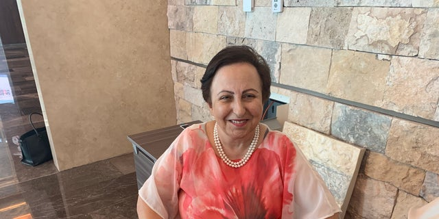 """Shirin Ebadi, an Iranian former judge and human rights activist now exiled in London, cautioned against inking """"peace deals"""" with the current Tehran regime."""