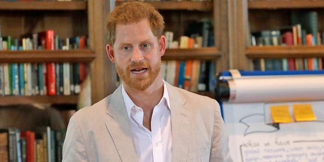 Prince Harry currently resides in California with his wife Meghan Markle and their son Archie.