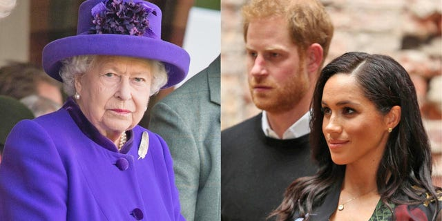 "Queen Elizabeth II has reportedly refused to discuss ""The Sussexes."" A new report alleges that the monarch has been disappointed in Prince Harry and Meghan Markle's behavior."
