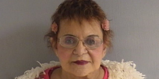 Mugshot for Ramona Rubin, 79, who was charged Monday.