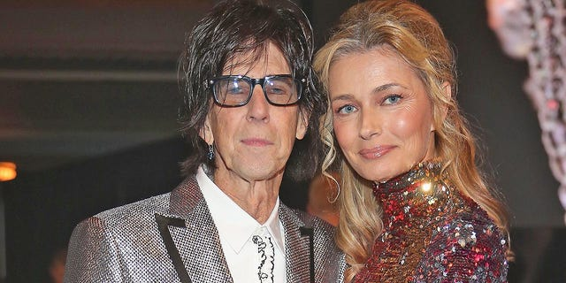 Ric Ocasek of The Cars and Paulina Porizkova were in the midst of a divorce when he died in 2019.