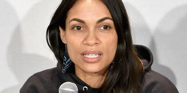 Westlake Legal Group rosario-dawson-getty Rosario Dawson pens op-ed alleging U.S. immigration policy furthers 'a larger white nationalist narrative' Tyler McCarthy fox-news/us/immigration fox-news/person/donald-trump fox-news/person/cory-booker fox-news/entertainment/genres/political fox-news/entertainment/celebrity-news fox news fnc/entertainment fnc article 9a93f5cd-20c3-5c96-8f85-cfb6231879d5