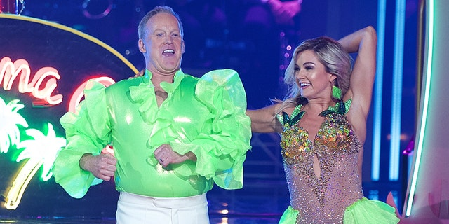 "Spicer danced to a Spice Girls song for his debut on ""DWTS.""​​​​​"