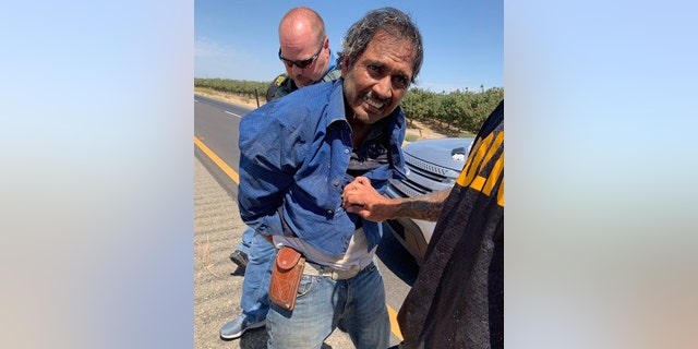 Guadalupe Lopez-Herrara, 51, was taken into custody Thursday after the Merced County's Sheriff's Office says he is suspected of shooting a deputy.