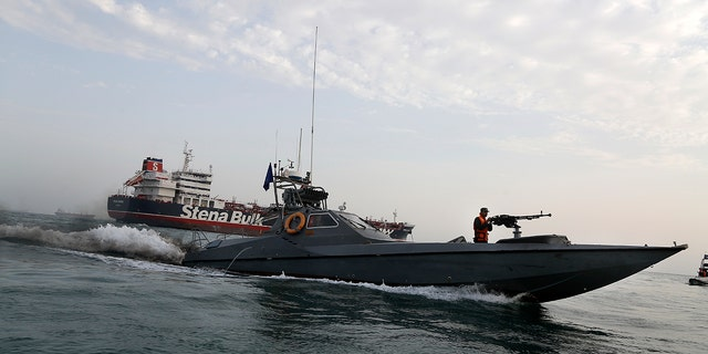The captain of the Iran-held Stena Impero has been asked to let seven of the ship's 23 crew members return to their country. (Hasan Shirvani/Mizan News Agency via AP, File)