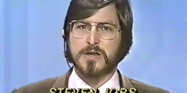 Apple co-founder Steve Jobs is seen above during an interview on ABC News.