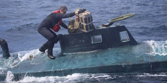 USCG stops semi-submersible vessel carrying 12,000 pounds of cocaine