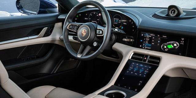 Westlake Legal Group tay2 All-electric Porsche Taycan debuts as the world's most powerful sedan Gary Gastelu fox-news/auto/make/porsche fox-news/auto/attributes/innovations fox-news/auto/attributes/electric fox news fnc/auto fnc article 7af988aa-2e49-5cc4-a44b-eabcebd63e40