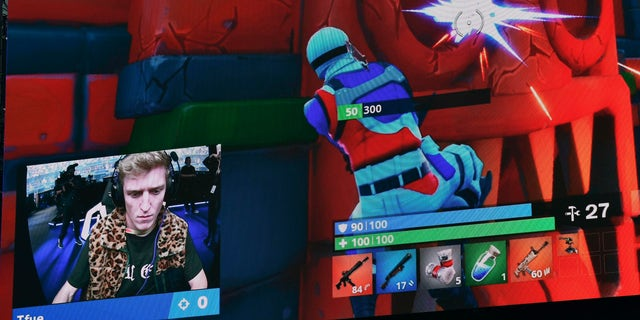 """Turner Ellis Tenney, also known as """"Tfue,"""" attends the final of the Solo competition at the 2019 Fortnite World Cup on July 28, 2019 inside Arthur Ashe Stadium in New York City."""
