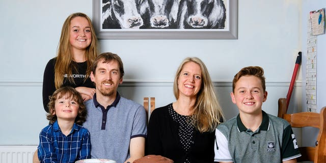 Jacqui and Ryan Robins, and their three children Skye, 15, Skipp, 14, and Cadan, five, are all happily vegan, and enjoy a range of delicious meat- and dairy-free meals. But the family have admitted that the transition to a vegan lifestyle has not been the easiest - and that they have lost friends over it, and are often met with hostility and aggression.