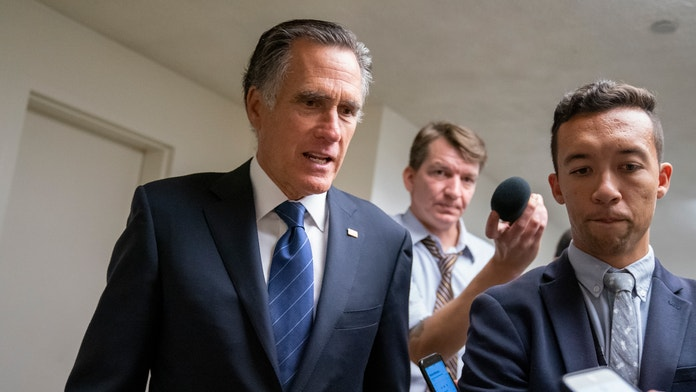 """Image result for CPAC declares Mitt Romney 'NOT invited' after Senate impeachment witness vote"""""""