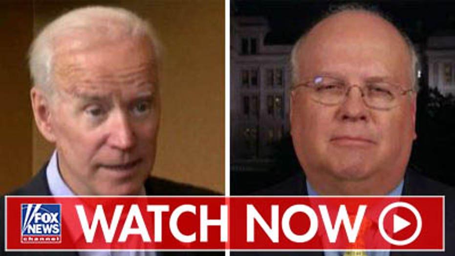 Karl Rove reacts to Joe Biden, Democratic 2020 candidates