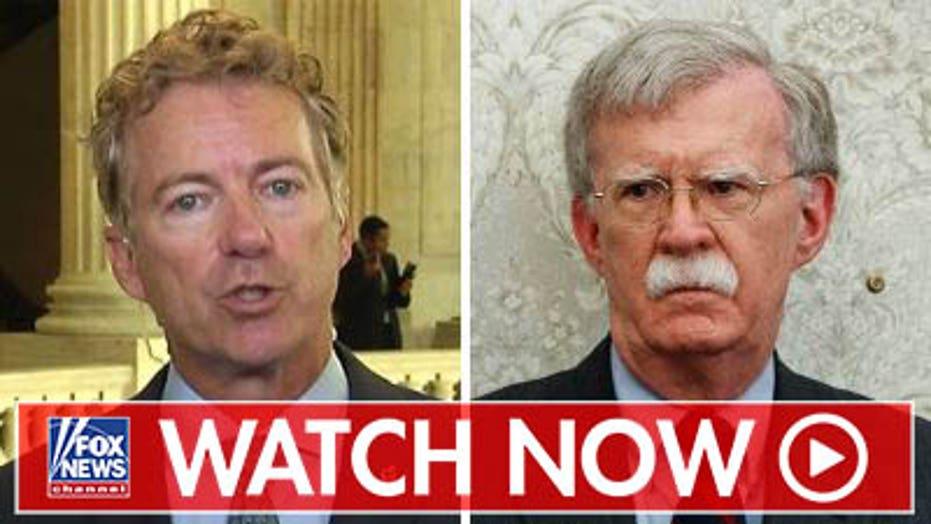 Rand Paul on John Bolton's firing
