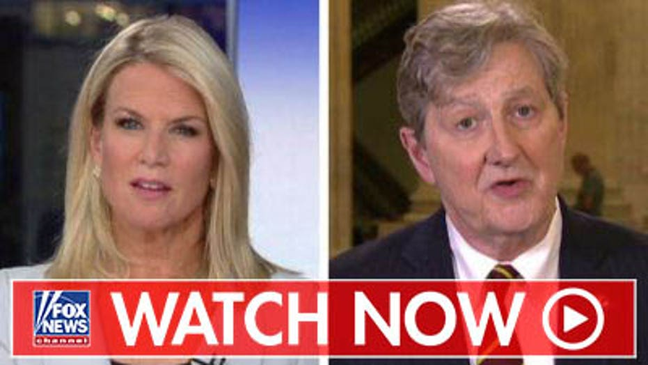 Sen. John Kennedy dismisses Dem impeachment push, says they just have 'hurt feelings'