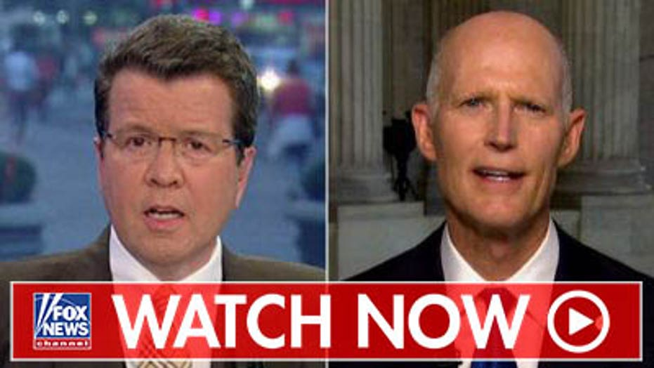 Rick Scott blasts Democrats over impeachment, inaction on budget