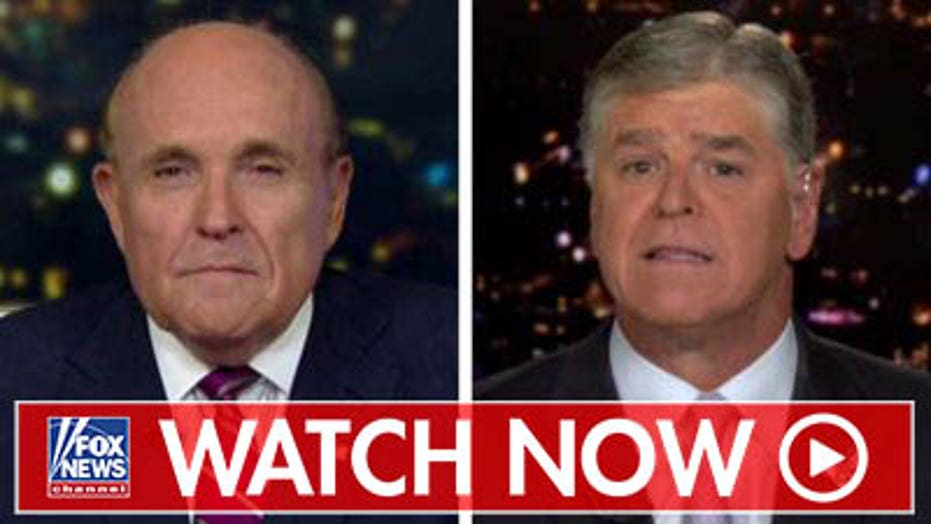 Guiliani: I was investigating Hillary Clinton and the Democrats cooperating with Ukrainians