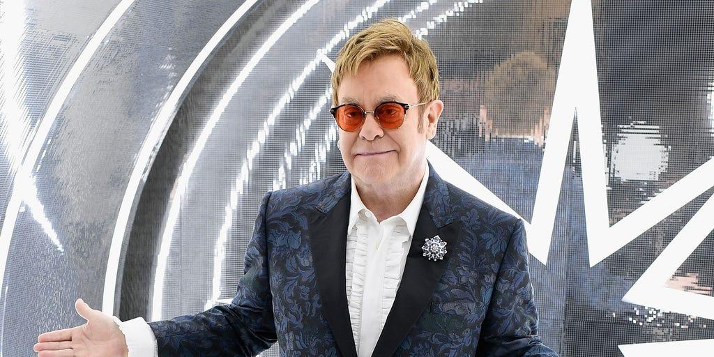 Elton John shocks concertgoers with profane rant against security guards