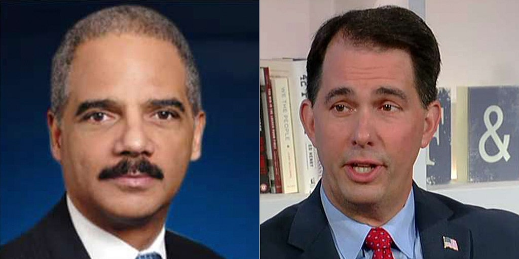 Scott Walker: Republicans must push back against Eric Holder's voter redistricting efforts