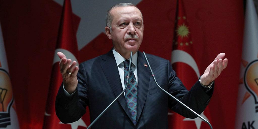 Turkey's Erdogan warns of flooding Europe with Syrian refugees if EU calls assault an 'invasion'