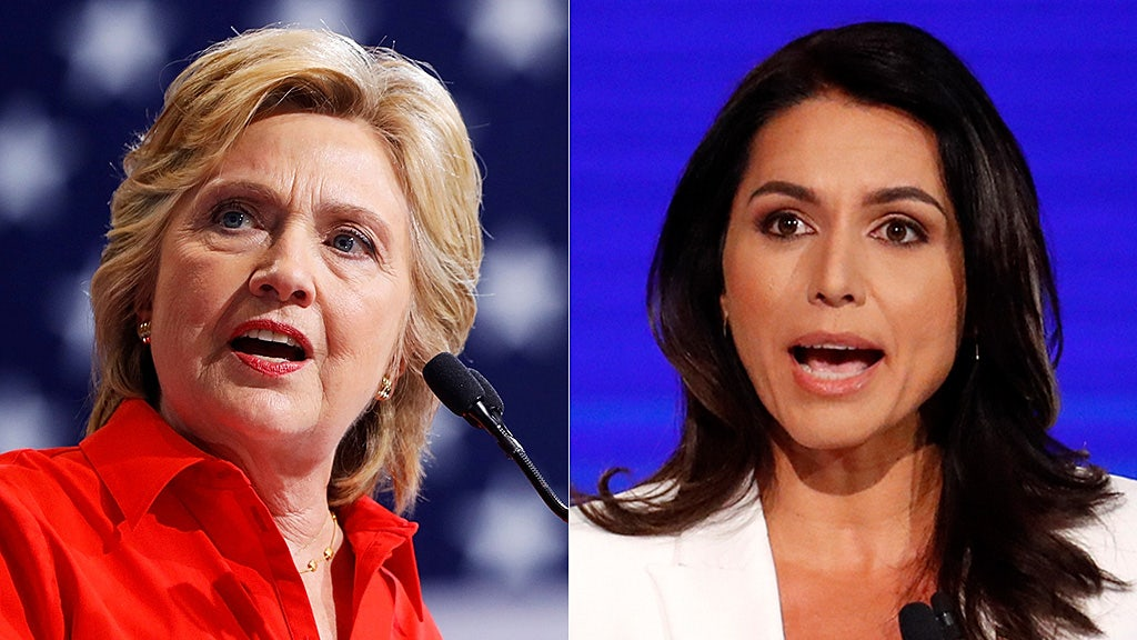 Clinton backs out of DC event also set to include Gabbard