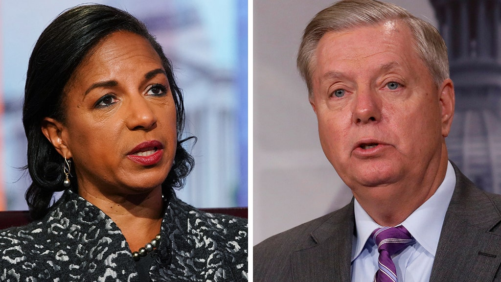 Susan Rice calls Lindsey Graham an expletive in podcast