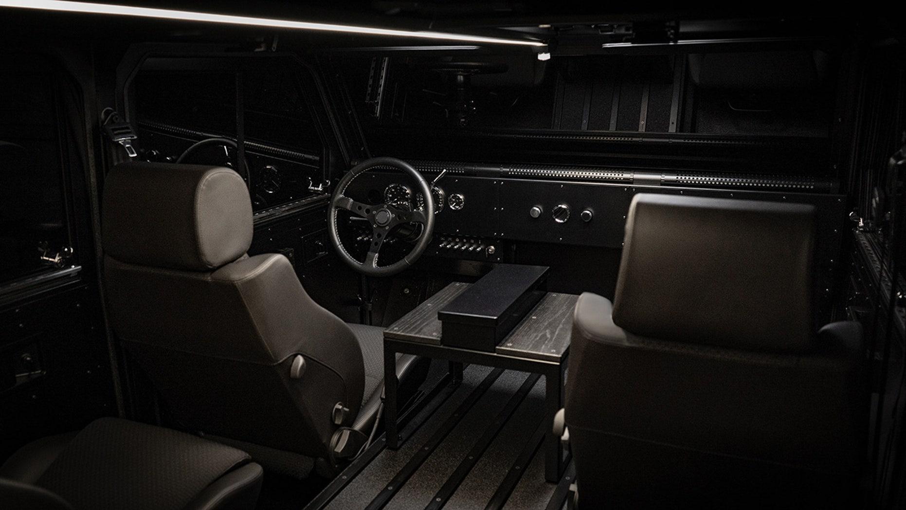 Bollinger Motors interior