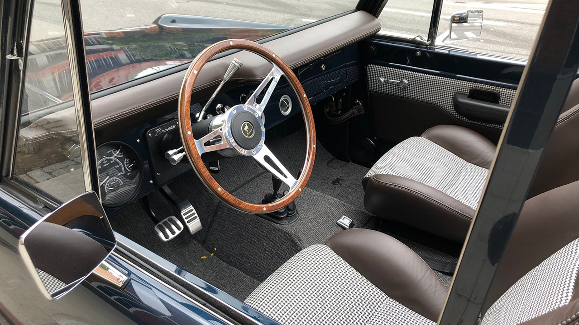 $350,000 Ford Bronco interior