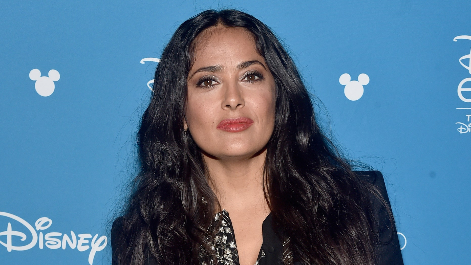 Salma Hayek joined prominent Mexican directors in starting a fund for out-of-work movie industry workers. (Alberto E. Rodriguez/Getty Images for Disney)