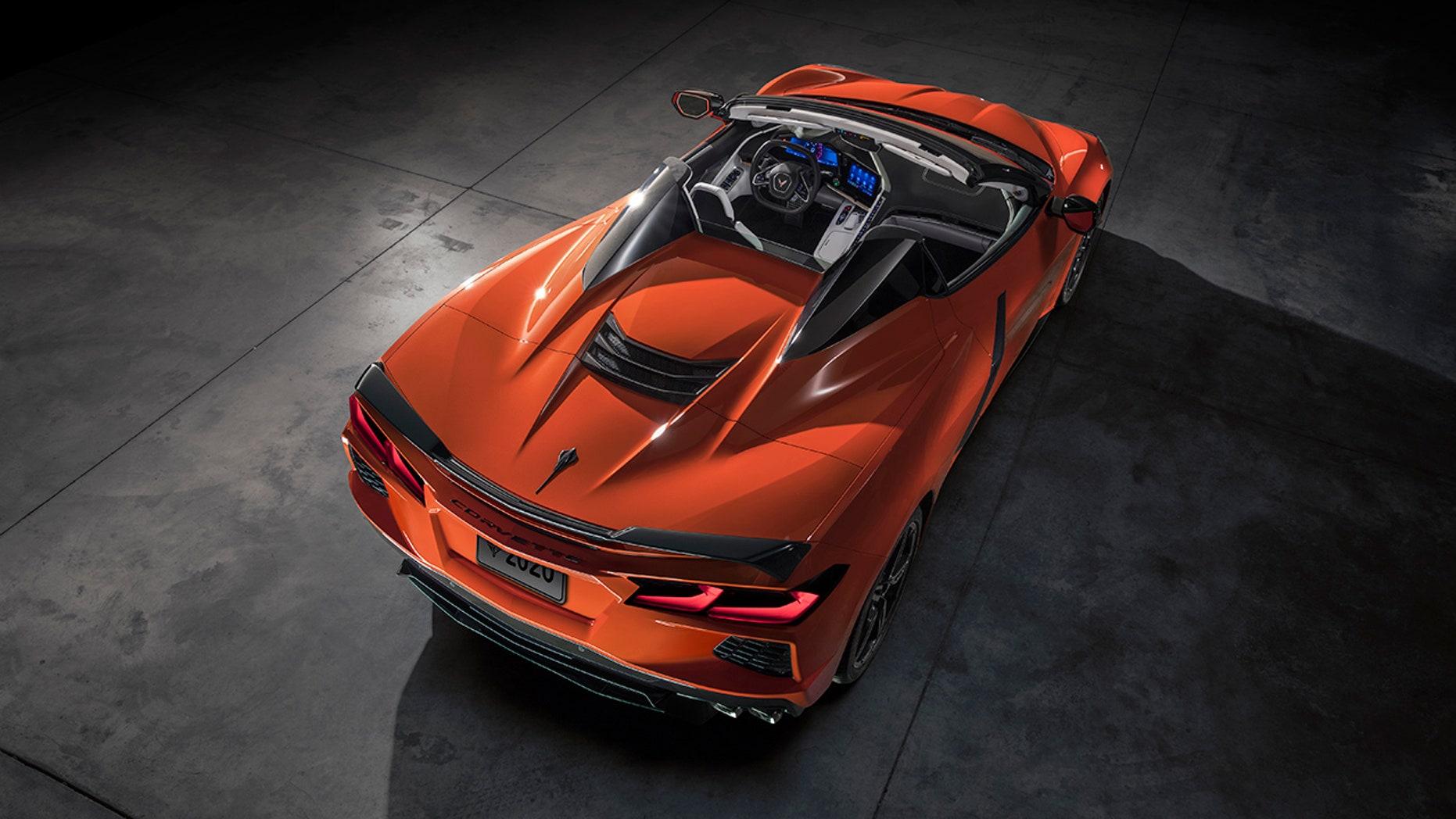 2020 Chevrolt Corvette Stingray convertible