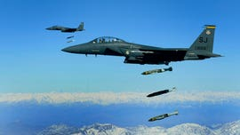 US dropped more bombs in Afghanistan last month than any time since 2010: Air Force