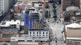 Damaged cranes hampering rescue efforts in partially collapsed New Orleans Hard Rock hotel