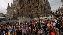 Barcelona's Sagrada Familia closed amid widespread Catalonia protests