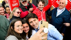Justin Trudeau's Liberals make final push as Canadian election campaign reaches conclusion