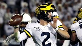 Michigan's Shea Patterson says he was eye-gouged during crucial TD vs. Penn State
