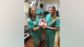 Identical twin nurses in Georgia deliver identical twin babies