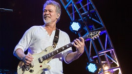 Eddie Van Halen out and about amid battle against throat cancer