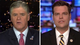 Gaetz blasts Schiff for removing him from 'unfair' impeachment inquiry hearing