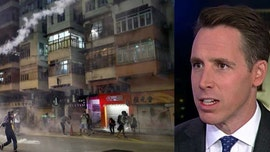 Sen. Hawley: 'News flash' for LeBron, 'people ARE being harmed' by China in Hong Kong