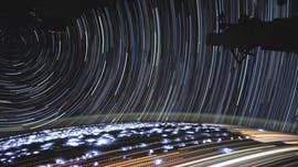 Epic space time-lapse captured from International Space Station
