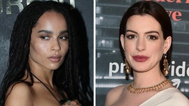 Anne Hathaway congratulates Zoe Kravitz on Catwoman role: 'Enjoy the ride'